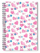 Love Hugs And Kisses Spiral Notebook