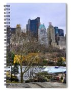 Love In Central Park Too Spiral Notebook