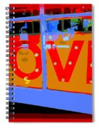 Love  In Lights Spiral Notebook