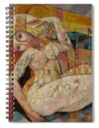 Love Is A Temple Spiral Notebook