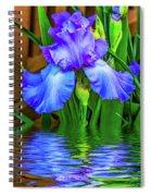 Love Is Blue 2 Spiral Notebook