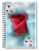 Love Is In The Air Spiral Notebook