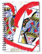 Love Is In The Cards Spiral Notebook