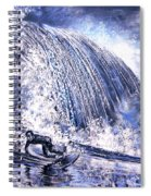 Love Is The Seventh Wave Spiral Notebook