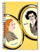 Love Locket Spiral Notebook