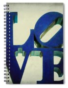 Love Makes Me Blue Spiral Notebook