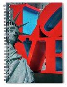 Love New York Spiral Notebook