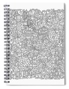 Love New York Full Page Spiral Notebook