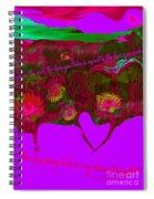 Love No. 4 Spiral Notebook