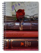 Love Of Books Spiral Notebook