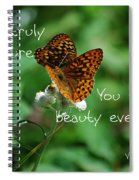 Love Of Nature Spiral Notebook