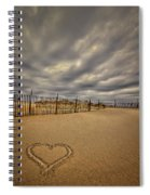 Love On The Forecast Spiral Notebook