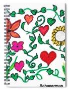 Love On The Vine Spiral Notebook