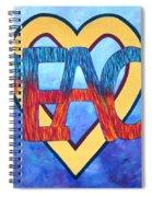 Love Peace Spiral Notebook