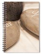 Love Rock Spiral Notebook