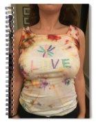 Love Tank Top Spiral Notebook