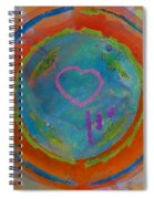 Love The Sea Spiral Notebook