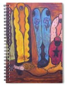 Love Them Boots Spiral Notebook