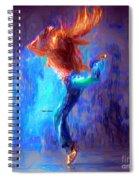 Love To Dance Spiral Notebook