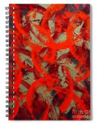 Love Trails  Spiral Notebook