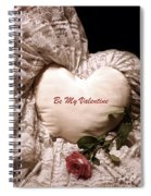 Love Victorian Style 2 Spiral Notebook