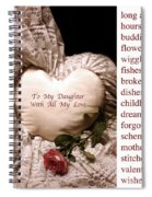 Love Victorian Style Spiral Notebook