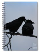 Love Whispering Spiral Notebook