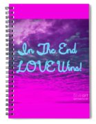 Love Wins Spiral Notebook