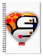 Love You Babe Spiral Notebook