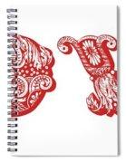 Love You Part 2 Spiral Notebook