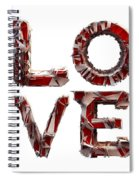 Love You To Death Spiral Notebook
