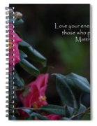 Love Your Enemies Spiral Notebook
