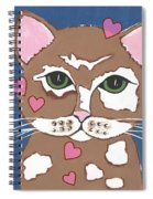 Loveable Cat - Cute Animals Spiral Notebook