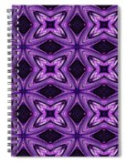 Lovely As A Purple Thought Spiral Notebook