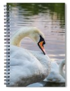 Lovely Couple Spiral Notebook