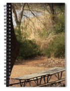 Lovely Day For A Picnic Spiral Notebook