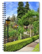 Lovely Day In The Garden Spiral Notebook