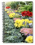 Lovely Flowers In Manito Park Conservatory Spiral Notebook