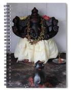Lovely Ganesha, Valparai Spiral Notebook