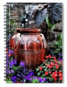 Lovely Garden  Spiral Notebook