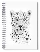 Lovely Leopard Spiral Notebook