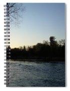 Lovely Light On Mississippi River Spiral Notebook