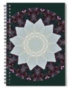 Lovely Lotus Spiral Notebook
