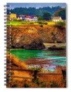 Lovely Mendocino Spiral Notebook