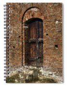 Lovely Old Door Spiral Notebook