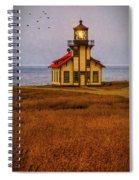 Lovely Point Cabrillo Light Station Spiral Notebook