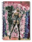 Lovely Silhouette Spiral Notebook