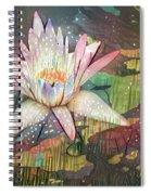 Lovely Waterlilies 2 Spiral Notebook