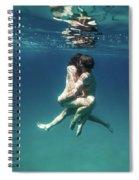 Lovers I Spiral Notebook