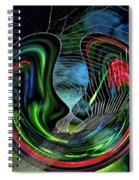 Lovers II Spiral Notebook